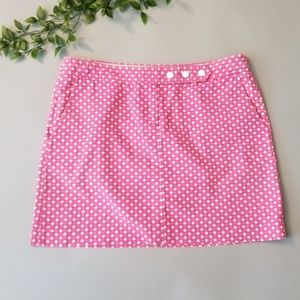 J. Crew | 8 | Pink Diamond Print Skirt